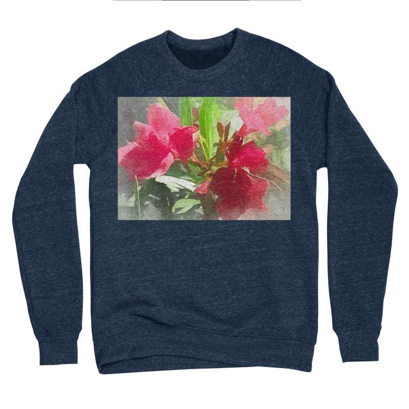 Pink Oleander Women's Sponge Fleece Sweatshirt by Jasmina Seidl's Artist Shop