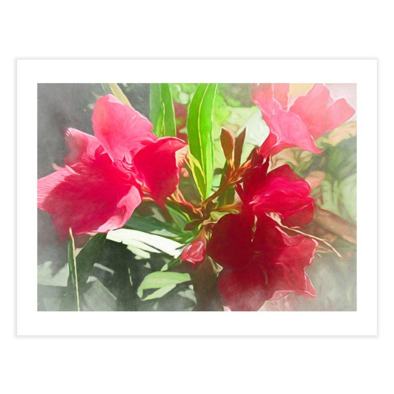 Pink Oleander Home Fine Art Print by Jasmina Seidl's Artist Shop