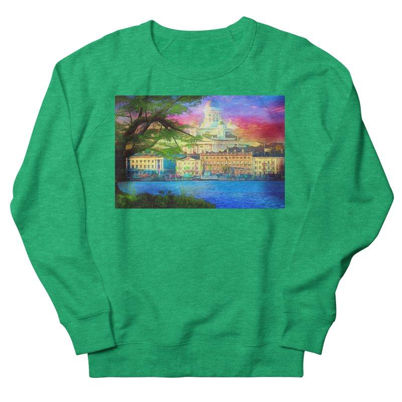 City of Rainbow Women's Sweatshirt by Jasmina Seidl's Artist Shop