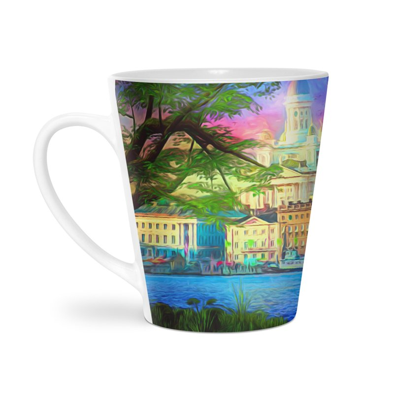 City of Rainbow Accessories Mug by Jasmina Seidl's Artist Shop