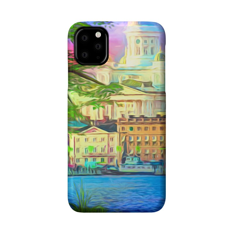 City of Rainbow Accessories Phone Case by Jasmina Seidl's Artist Shop