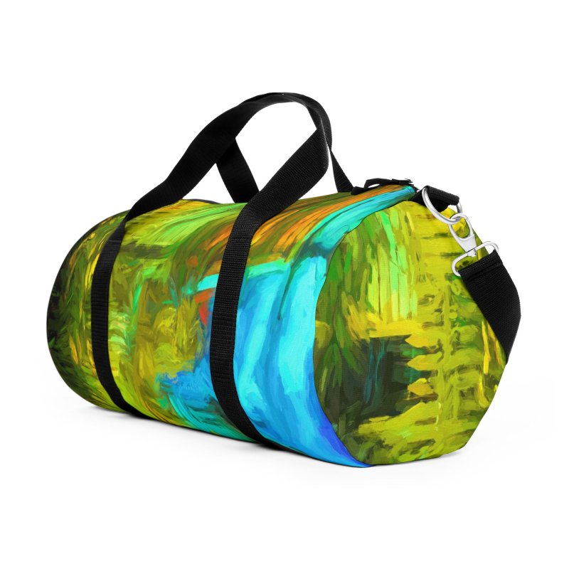 Bright Colors Accessories Duffel Bag Bag by Jasmina Seidl's Artist Shop