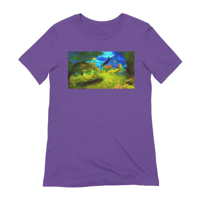 Bright Colors Women's Extra Soft T-Shirt by Jasmina Seidl's Artist Shop