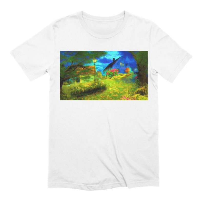 Bright Colors Men's Extra Soft T-Shirt by Jasmina Seidl's Artist Shop