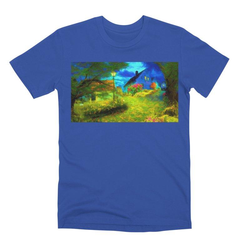 Bright Colors Men's Premium T-Shirt by Jasmina Seidl's Artist Shop