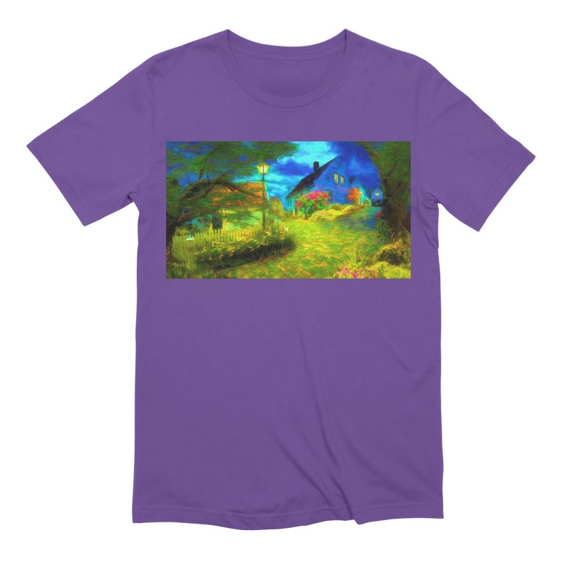 Bright Colors Men's Extra Soft T-Shirt by Jasmina Seidl's Artist Shop