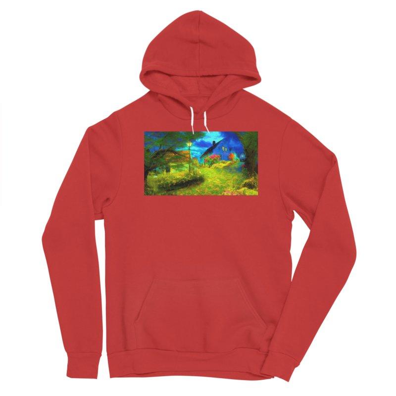 Bright Colors Women's Sponge Fleece Pullover Hoody by Jasmina Seidl's Artist Shop