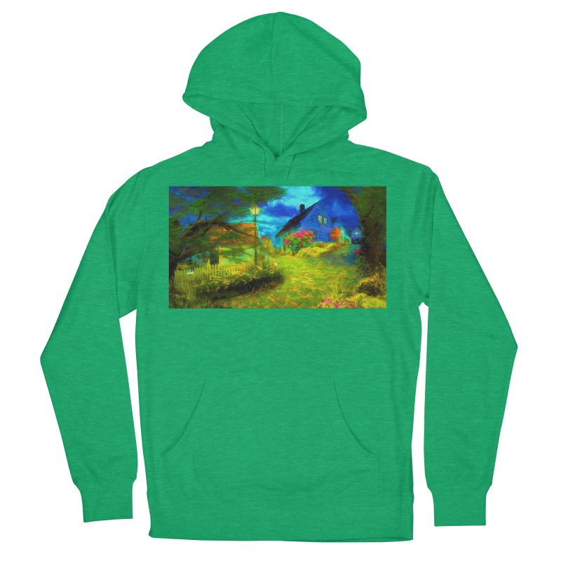 Bright Colors Women's French Terry Pullover Hoody by Jasmina Seidl's Artist Shop