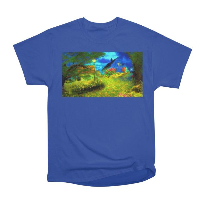 Bright Colors Women's Heavyweight Unisex T-Shirt by Jasmina Seidl's Artist Shop