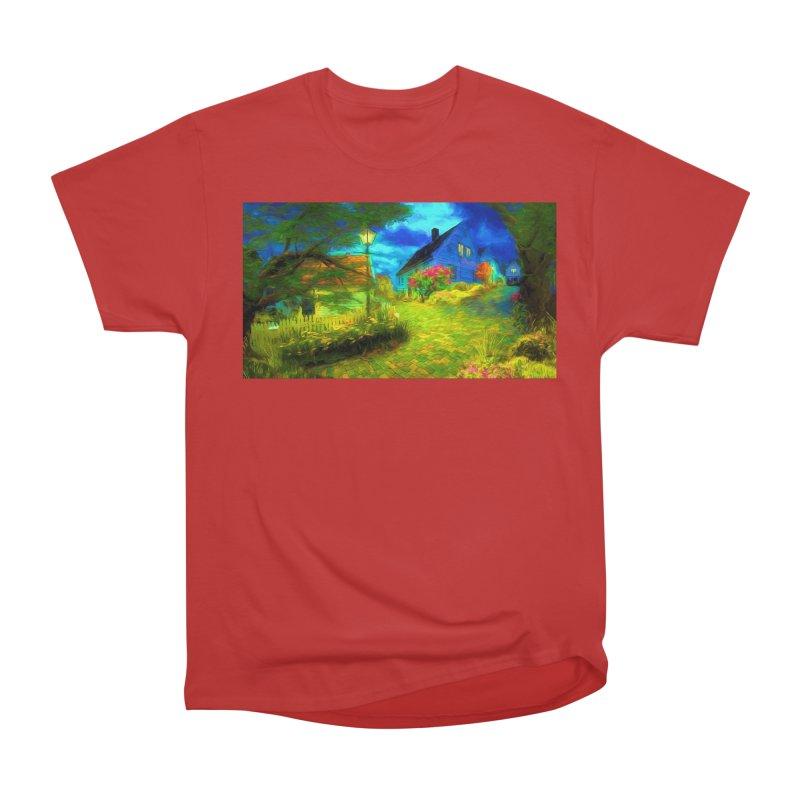 Bright Colors Men's Heavyweight T-Shirt by Jasmina Seidl's Artist Shop