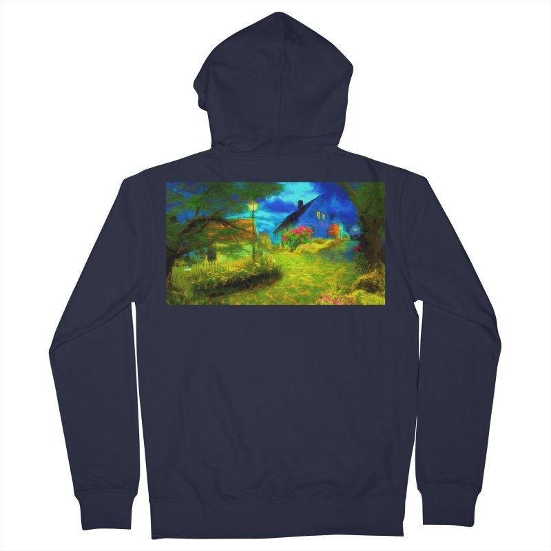 Bright Colors Women's French Terry Zip-Up Hoody by Jasmina Seidl's Artist Shop