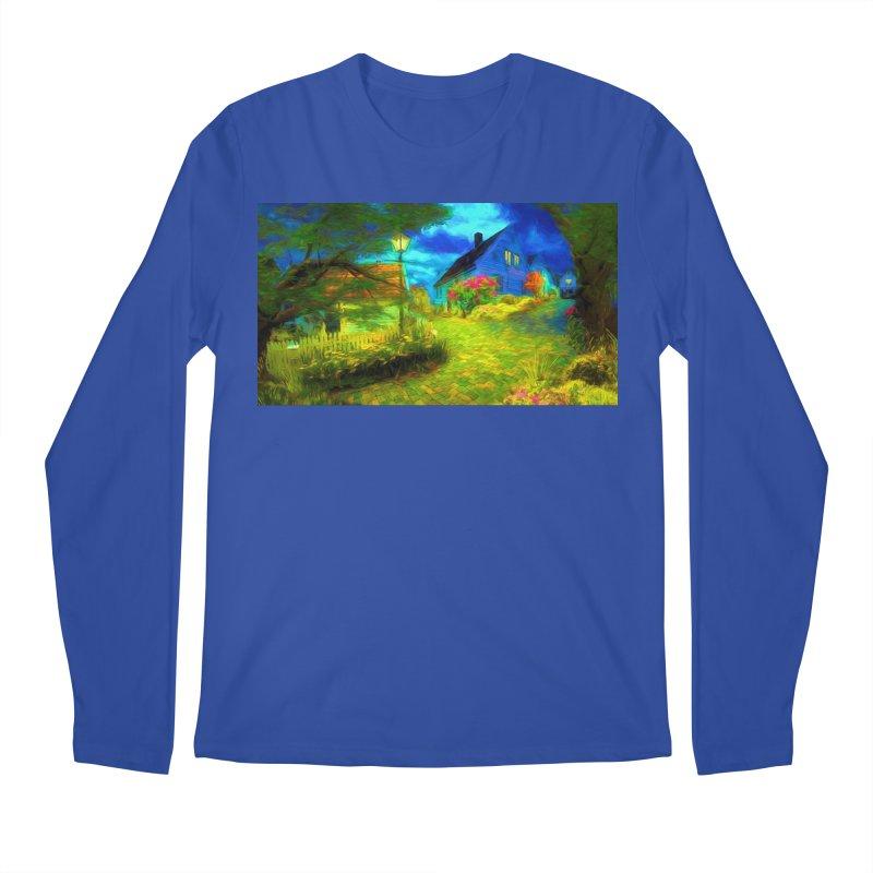 Bright Colors Men's Regular Longsleeve T-Shirt by Jasmina Seidl's Artist Shop