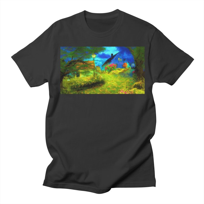 Bright Colors Men's Regular T-Shirt by Jasmina Seidl's Artist Shop