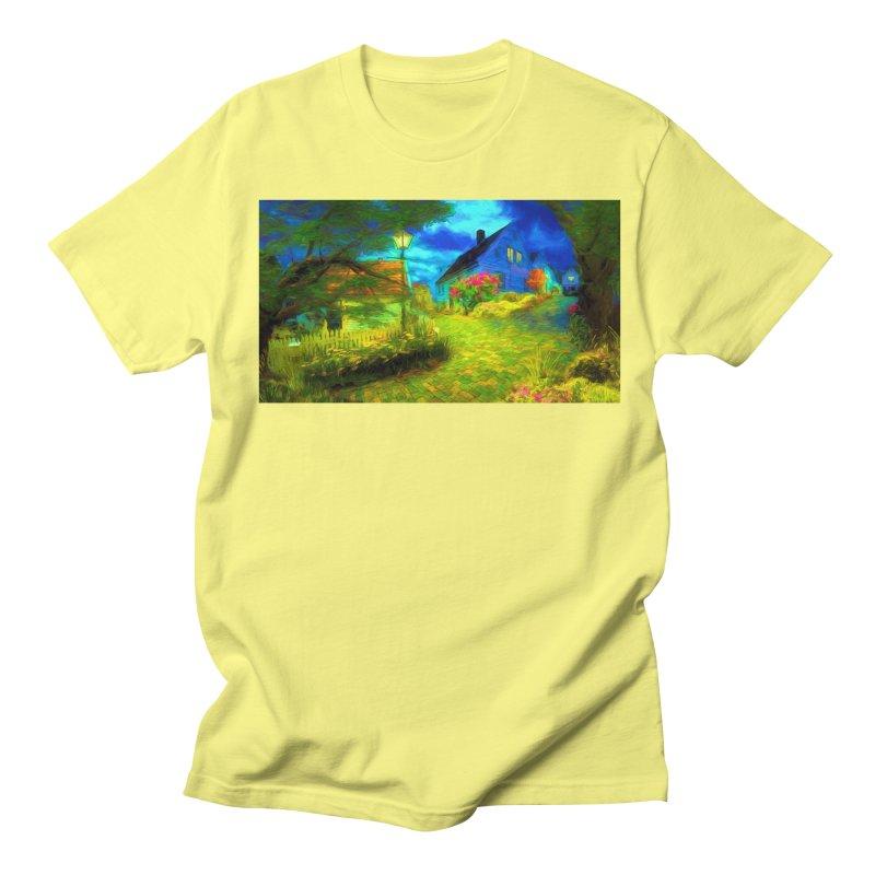 Bright Colors Women's Regular Unisex T-Shirt by Jasmina Seidl's Artist Shop