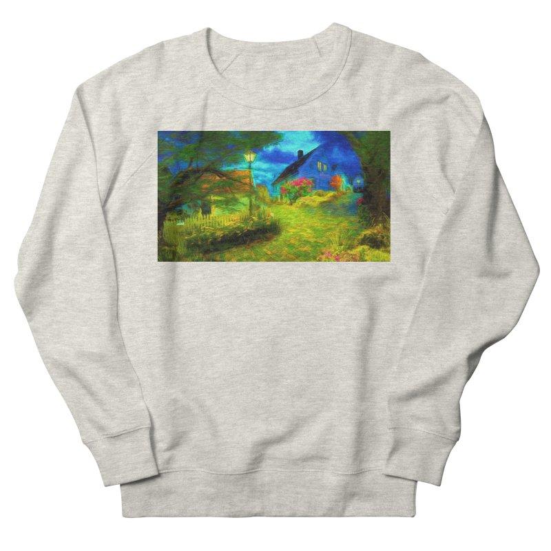 Bright Colors Women's French Terry Sweatshirt by Jasmina Seidl's Artist Shop