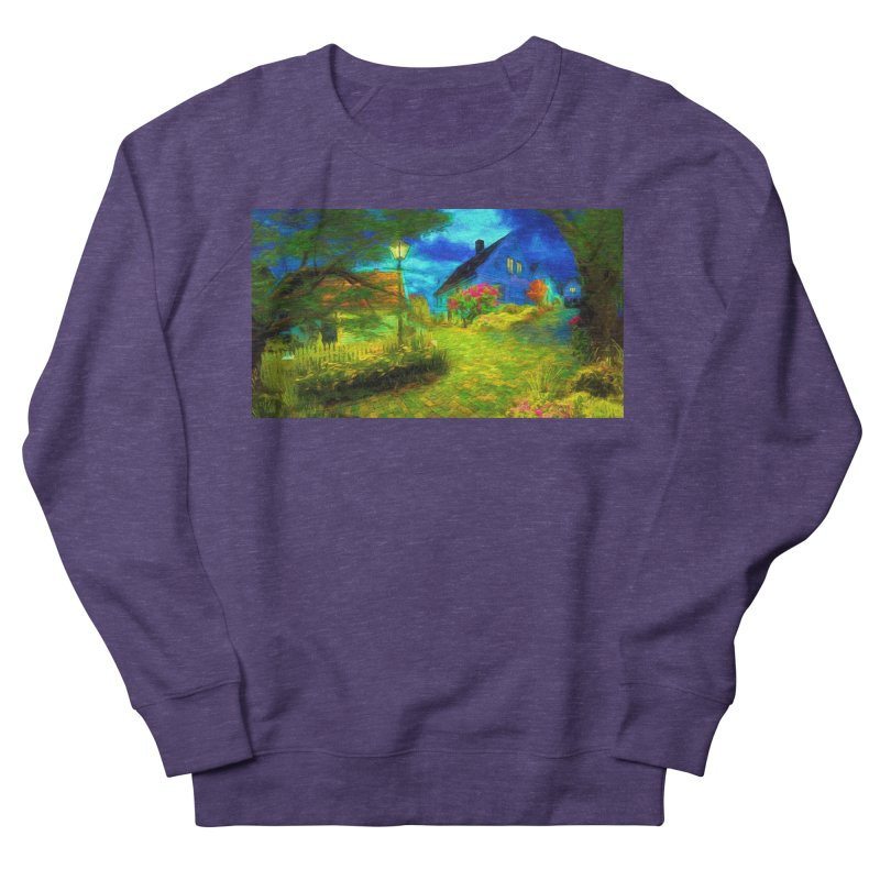 Bright Colors Men's French Terry Sweatshirt by Jasmina Seidl's Artist Shop