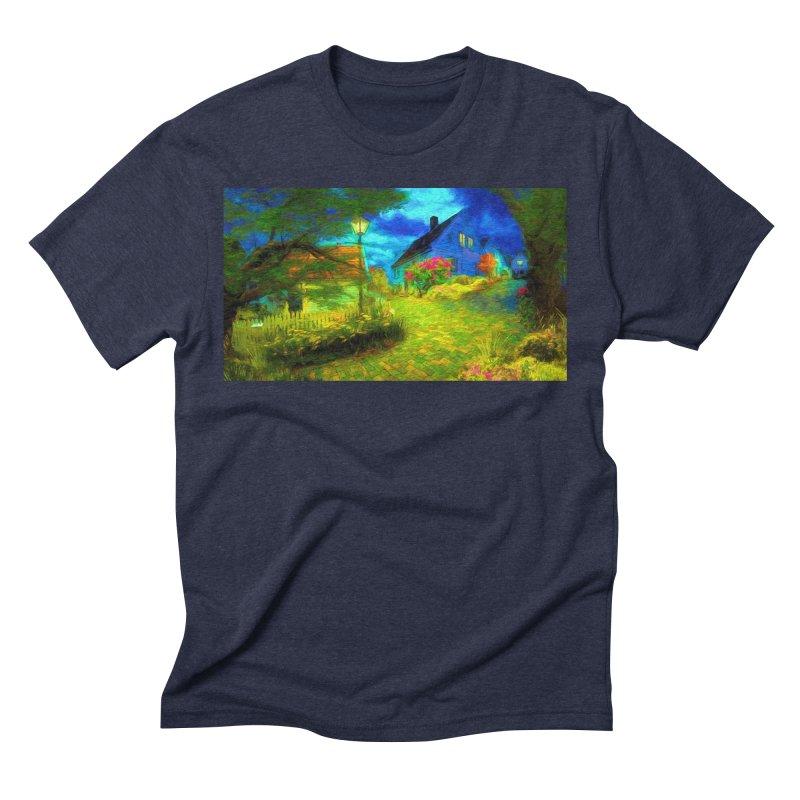 Bright Colors Men's Triblend T-Shirt by Jasmina Seidl's Artist Shop