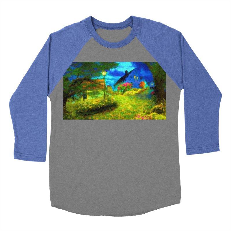 Bright Colors Women's Baseball Triblend Longsleeve T-Shirt by Jasmina Seidl's Artist Shop
