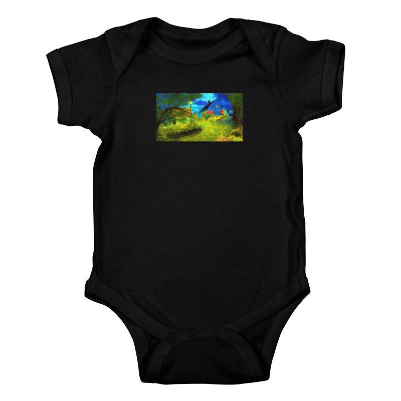 Bright Colors Kids Baby Bodysuit by Jasmina Seidl's Artist Shop