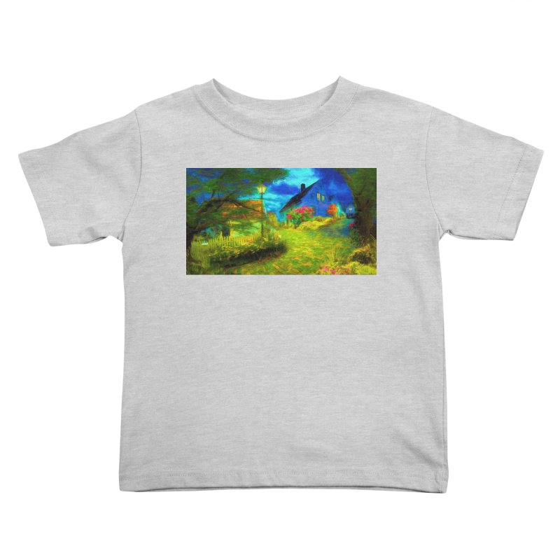 Bright Colors Kids Toddler T-Shirt by Jasmina Seidl's Artist Shop
