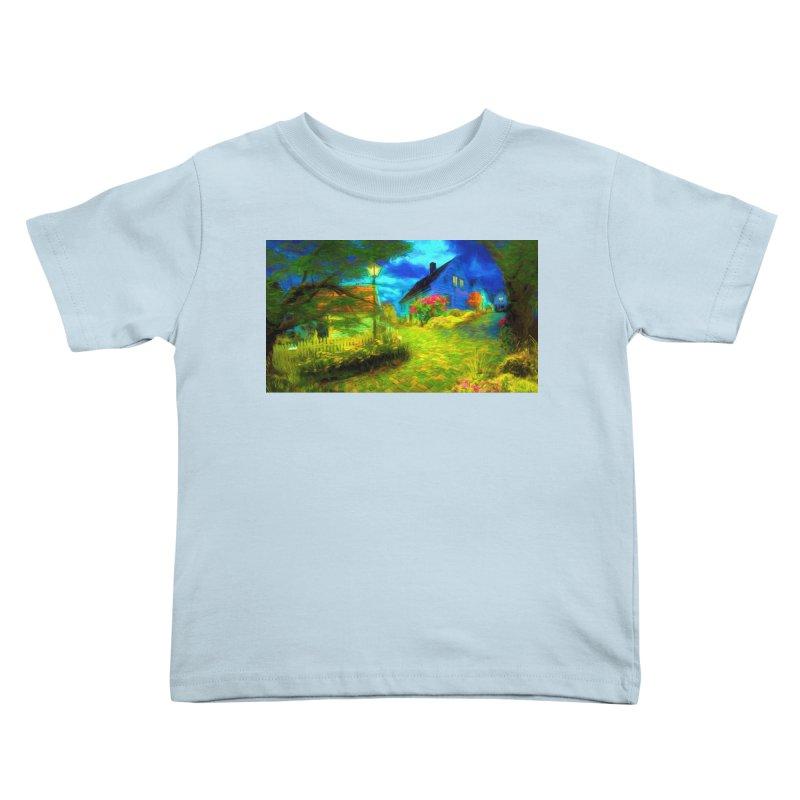 Bright Colors Kids Toddler T-Shirt by Jasmina Seidl's Artist Shop