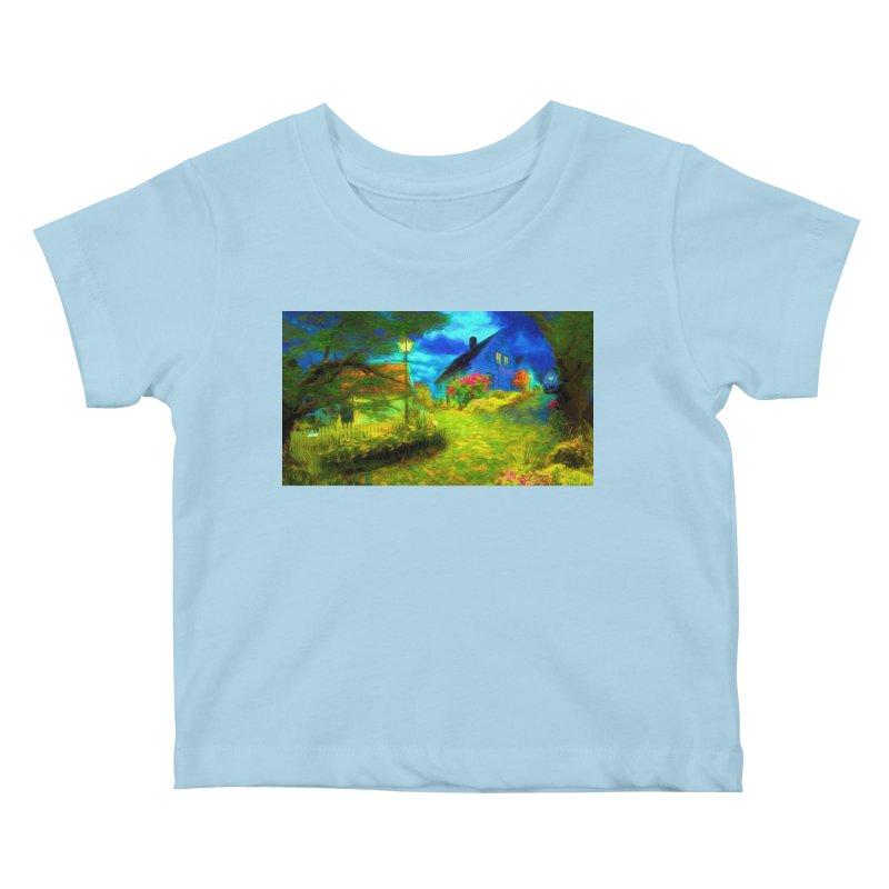Bright Colors Kids Baby T-Shirt by Jasmina Seidl's Artist Shop