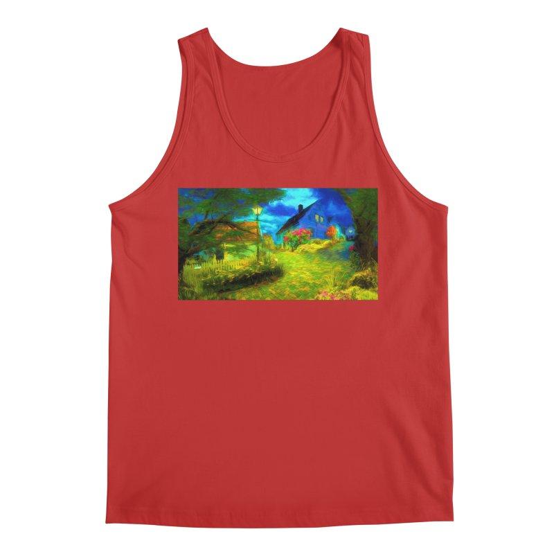 Bright Colors Men's Regular Tank by Jasmina Seidl's Artist Shop