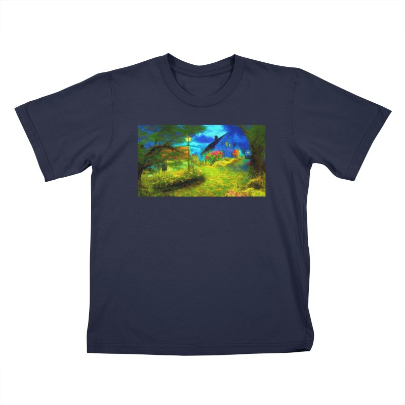 Bright Colors Kids T-Shirt by Jasmina Seidl's Artist Shop