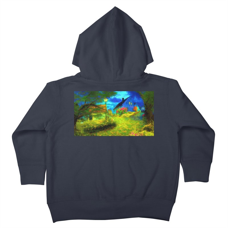 Bright Colors Kids Toddler Zip-Up Hoody by Jasmina Seidl's Artist Shop