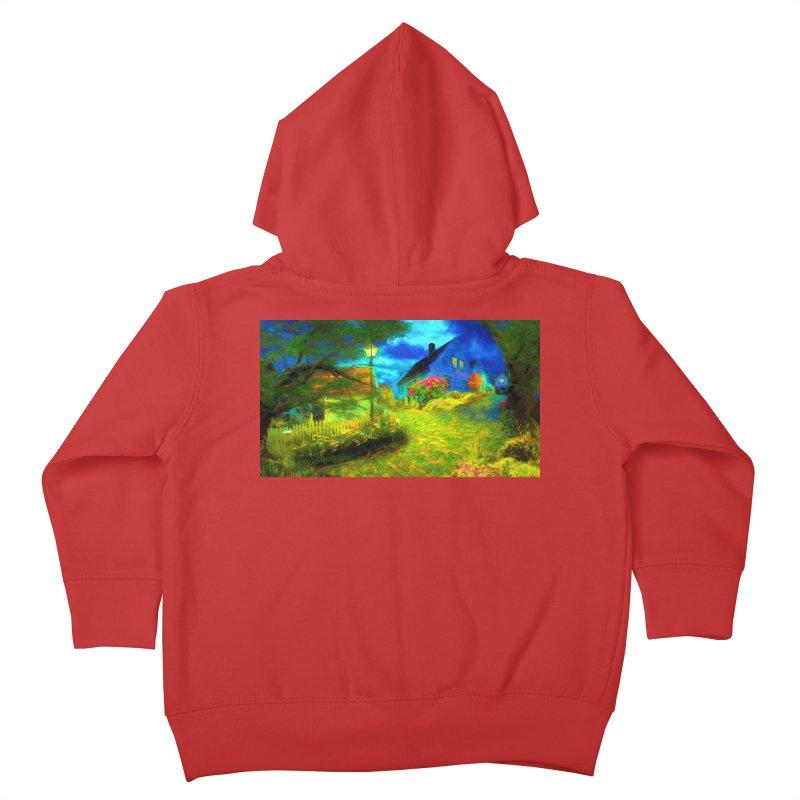 Bright Colors Kids Toddler Zip-Up Hoody by Jasmina Seidl's Artist Shop