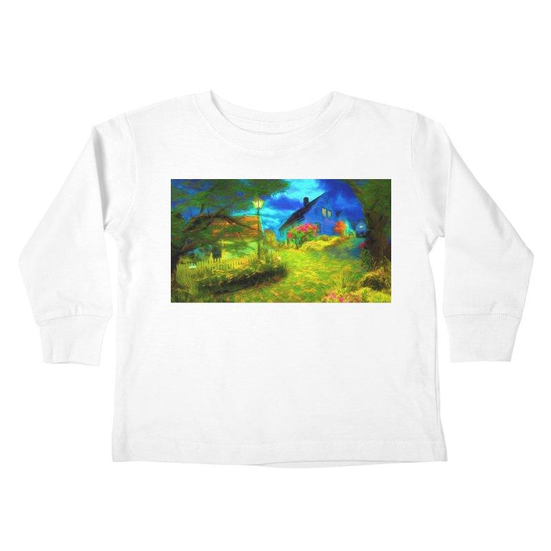 Bright Colors Kids Toddler Longsleeve T-Shirt by Jasmina Seidl's Artist Shop