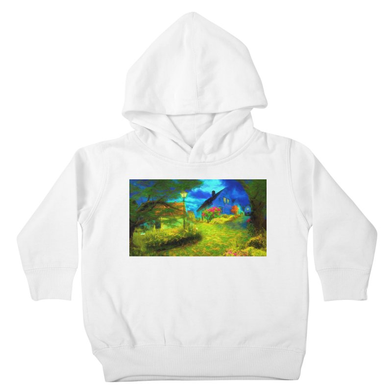 Bright Colors Kids Toddler Pullover Hoody by Jasmina Seidl's Artist Shop