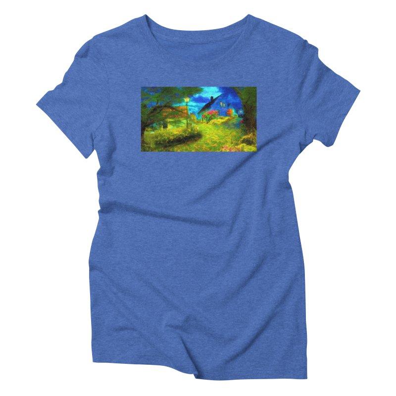 Bright Colors Women's Triblend T-Shirt by Jasmina Seidl's Artist Shop