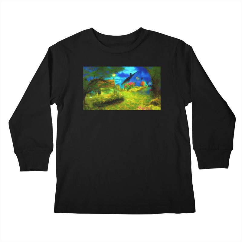 Bright Colors Kids Longsleeve T-Shirt by Jasmina Seidl's Artist Shop