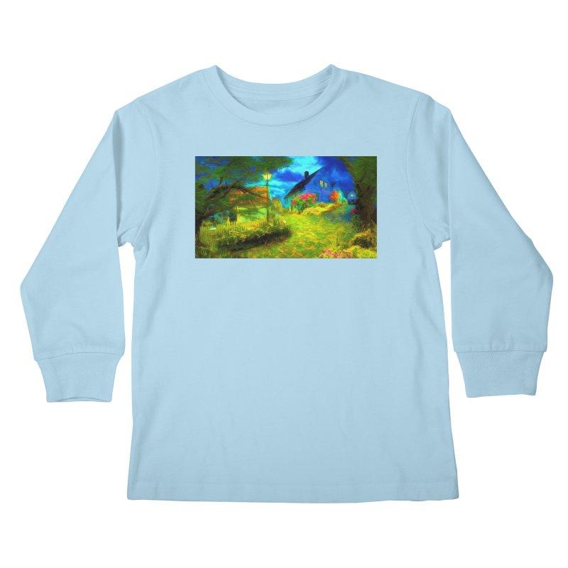 Bright Colors Kids Longsleeve T-Shirt by Jasmina Seidl's Artist Shop