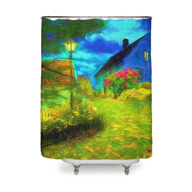 Bright Colors Home Shower Curtain by Jasmina Seidl's Artist Shop