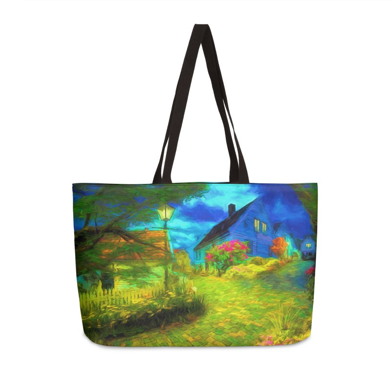 Bright Colors Accessories Weekender Bag Bag by Jasmina Seidl's Artist Shop