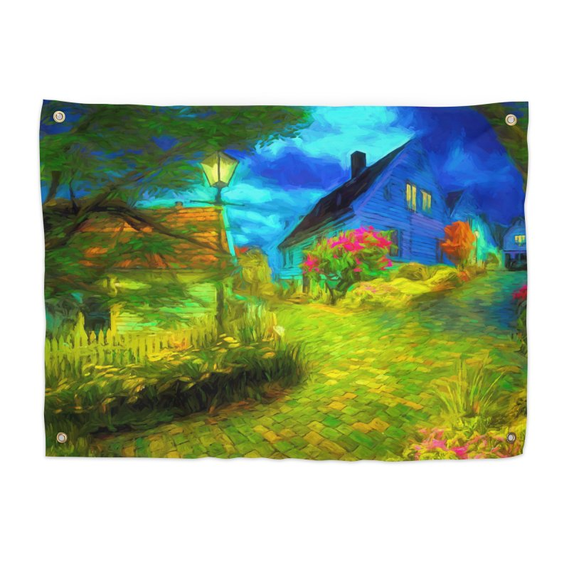 Bright Colors Home Tapestry by Jasmina Seidl's Artist Shop