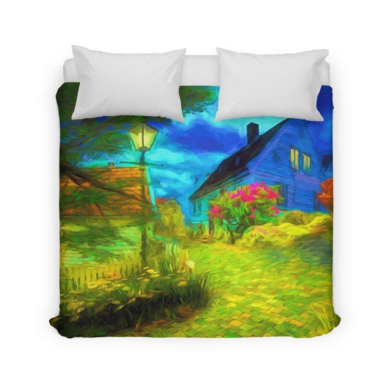 Bright Colors Home Duvet by Jasmina Seidl's Artist Shop
