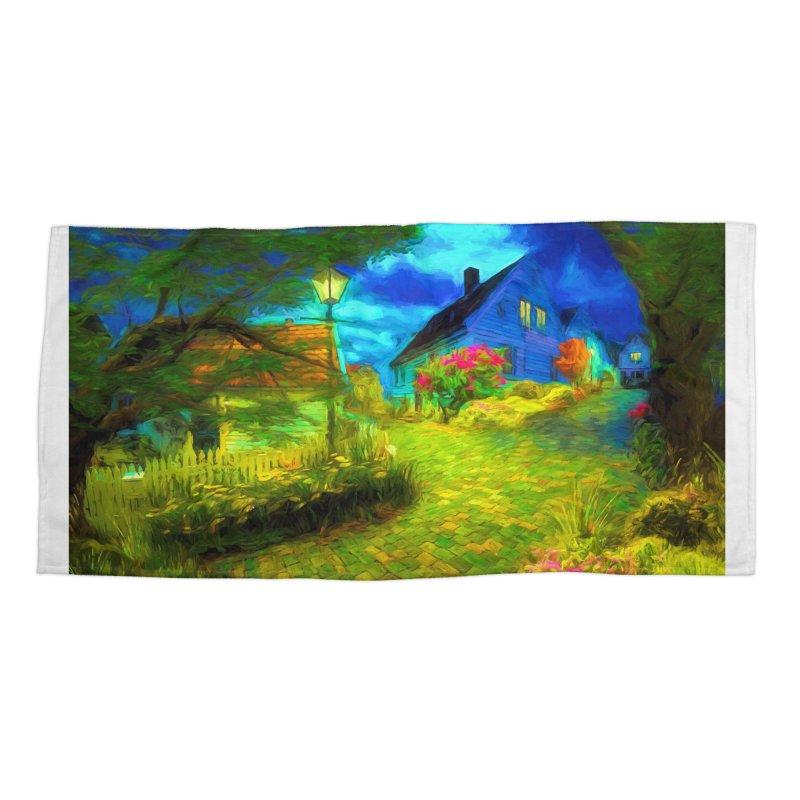 Bright Colors Accessories Beach Towel by Jasmina Seidl's Artist Shop