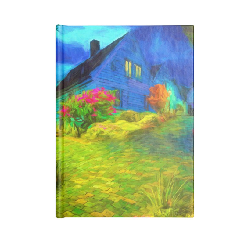 Bright Colors Accessories Lined Journal Notebook by Jasmina Seidl's Artist Shop