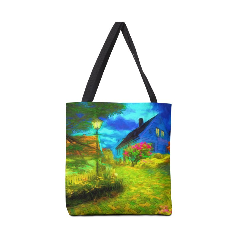 Bright Colors Accessories Tote Bag Bag by Jasmina Seidl's Artist Shop