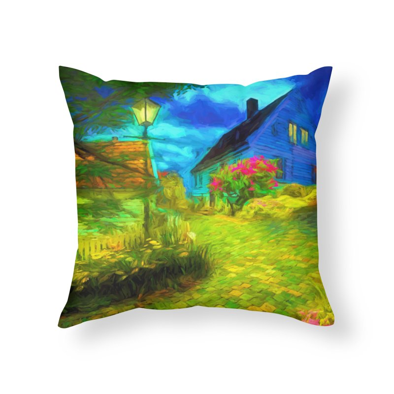 Bright Colors Home Throw Pillow by Jasmina Seidl's Artist Shop