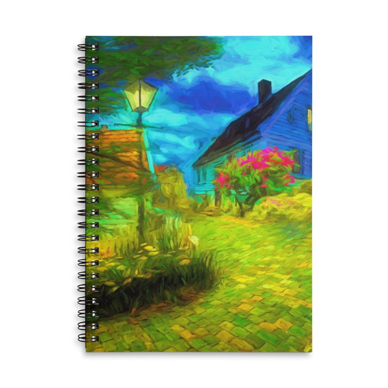 Bright Colors Accessories Lined Spiral Notebook by Jasmina Seidl's Artist Shop