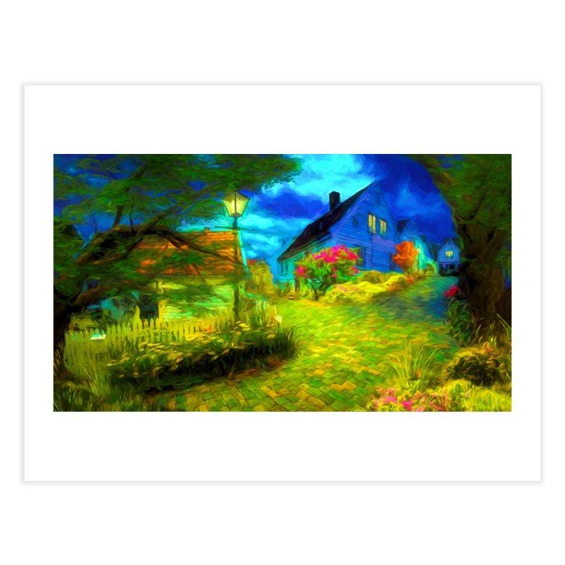 Bright Colors Home Fine Art Print by Jasmina Seidl's Artist Shop