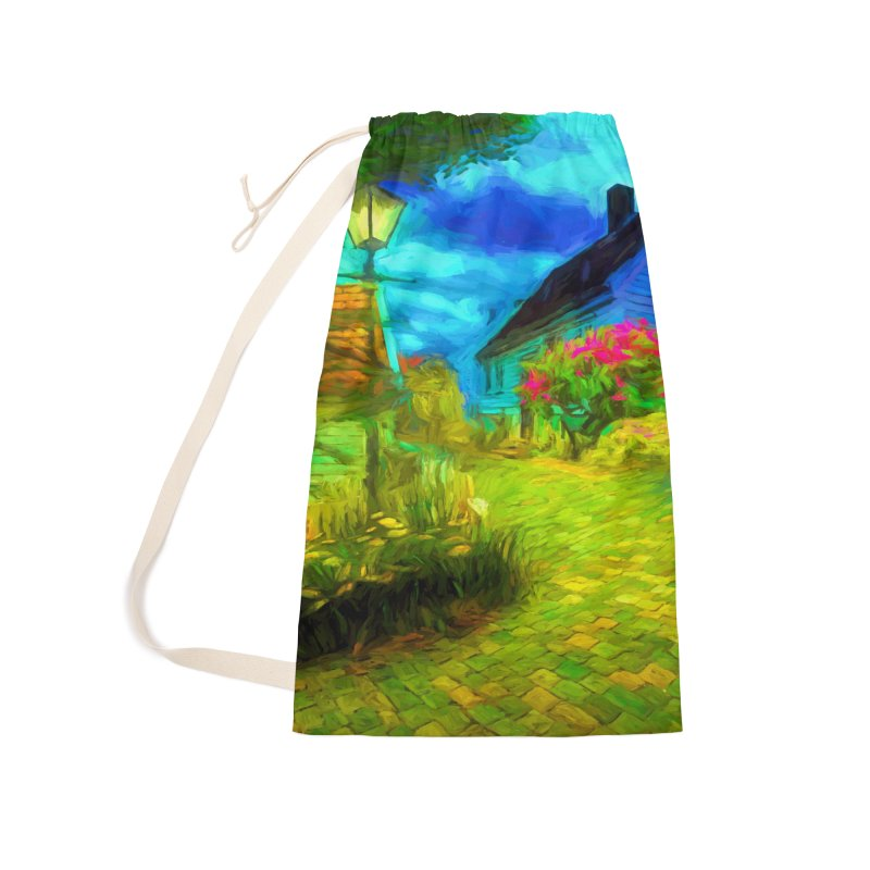 Bright Colors Accessories Laundry Bag Bag by Jasmina Seidl's Artist Shop