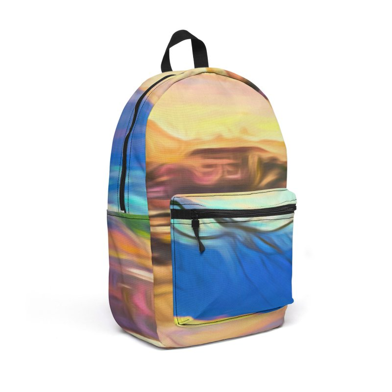 Reflections Accessories Backpack Bag by Jasmina Seidl's Artist Shop