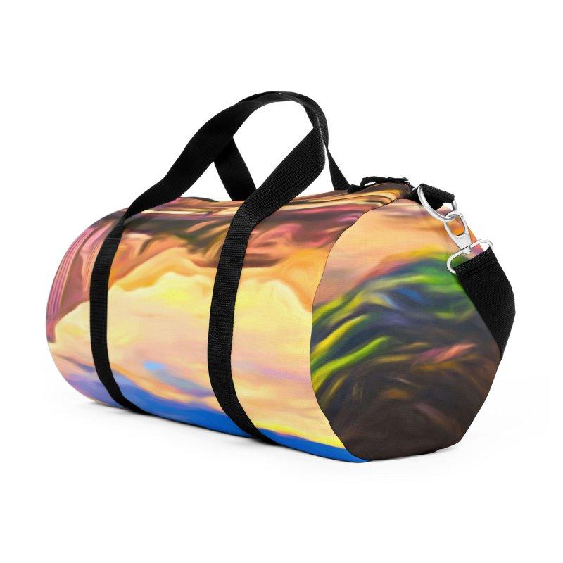 Reflections Accessories Duffel Bag Bag by Jasmina Seidl's Artist Shop