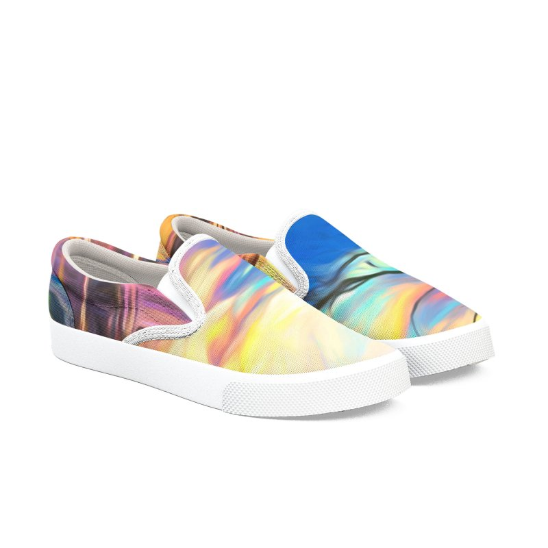 Reflections Men's Slip-On Shoes by Jasmina Seidl's Artist Shop