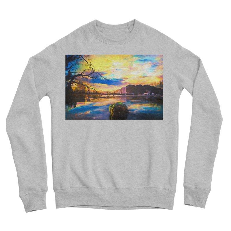 Reflections Women's Sponge Fleece Sweatshirt by Jasmina Seidl's Artist Shop
